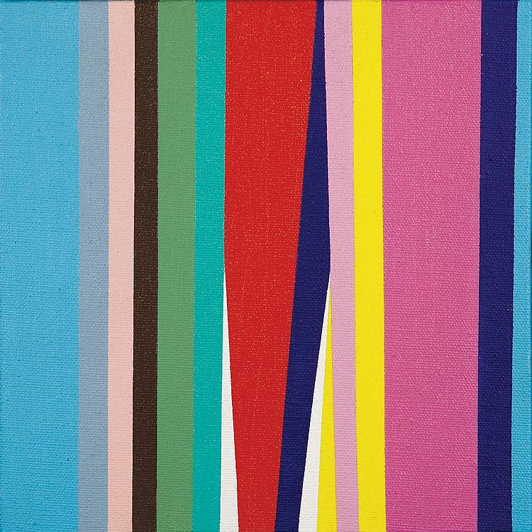 Jay Rosenblum American, 1933-1989 Tricorn VI, 1970