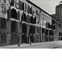 ABBOTT, BERENICE (1898-1991) [Yuban Warehouse, about 1935], printed 1980.