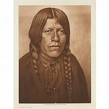 CURTIS, EDWARD SHERRIFF (1868-1952) The North American Indian, being a series of volumes picturing and describing the Indians o...