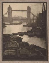 [COBURN, ALVIN LANGDON] BELLOC, HILAIRE. London. London and New York: Duckworth/Brentano''s, 1909. First edition. Publisher''s green c.