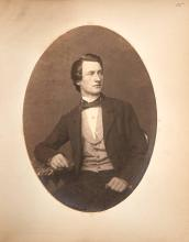 [CLASS ALBUM] [Spine title] Class of 1858 Columbia College.