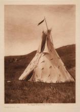 CURTIS, EDWARD SHERIFF (1868-1952) Group of ten photogravures.