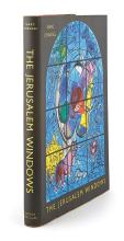 [CHAGALL, MARC] LEYMARIE, JEAN. The Jerusalem Windows. [Monte Carlo: Andre Sauret, 1962]. First English language edition. Publisher''..