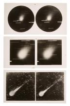 [ASTROPHOTOGRAPHY-STEREOSCOPY] WOLF, MAX. Stereoskopbilder von Sternhimmel. 1. Serie.