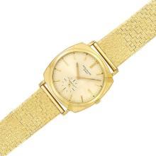 Gentleman''s Gold Wristwatch, Patek Philippe, Ref. 3525, Retailed by Gubelin