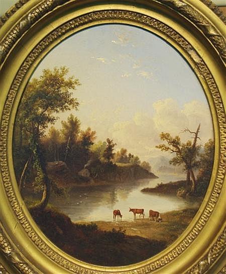 Albertus Del Orient Browere American, 1814-1887 California Pastorale
