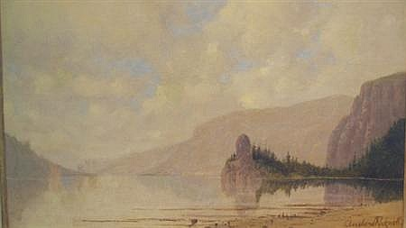 Cleveland Salter Rockwell American, 1837-1907 Cape Horn and the Columbia River