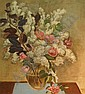 Dorothy Eaton American, 1893-1968 Floral Still Life, circa 1956, Dorothy Eaton, Click for value