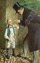 Toby (Tobias) E. Rosenthal American, 1848-1917 A Valuable Lesson, Toby Rosenthal, Click for value
