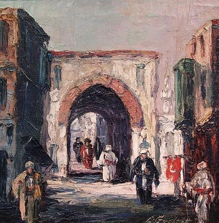 Leonid Gechtoff American, 1883-1941 The Mystic Orient