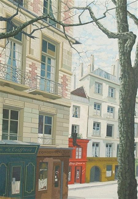 Rotislaw Racoff Polish, 1904-1982 View of Paris