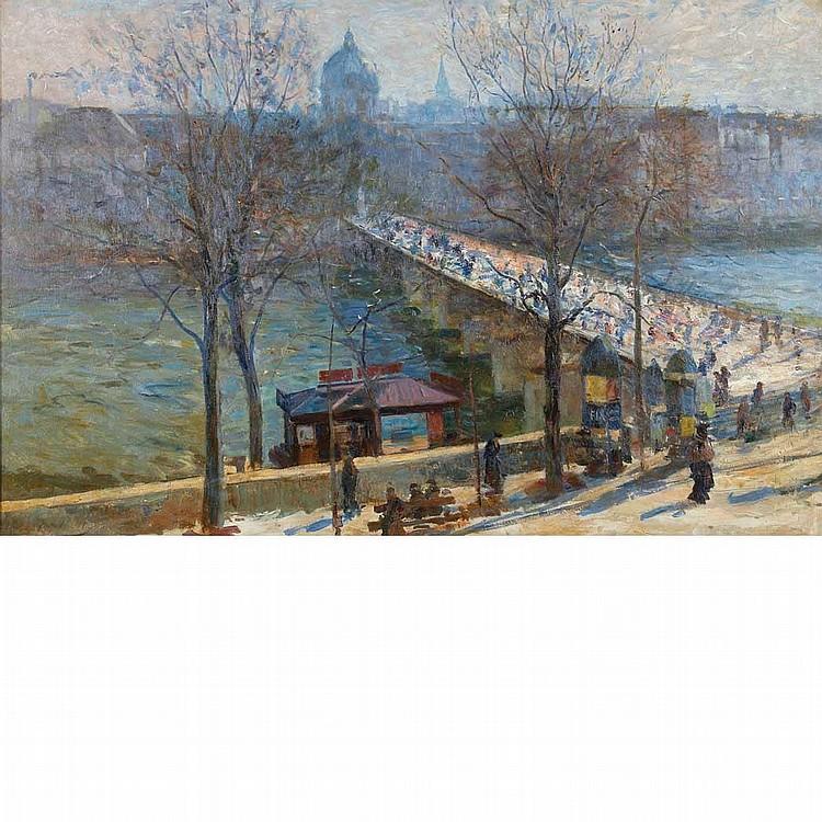 Elie Anatole PavilUkrainian/French, 1873-1948The Seine at the Pont des Arts