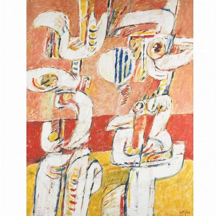 Latiff Mohidin Malaysian, b. 1938 Pago-Pago Series, 1968