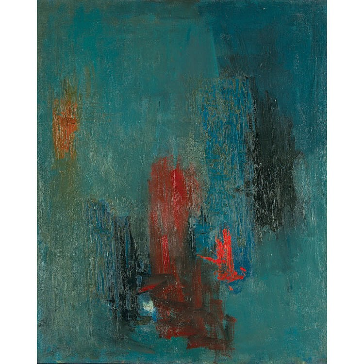 Albert Kotin Abstraction, 1960