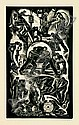 Letterio Calapai (1902-1993) LABOR IN A DEISEL PLANT Wood engraving, Letterio Calapai, Click for value