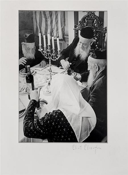 ELISOFON, ELIOT (1911-1973) Untitled [Jewish Family at Dinner],