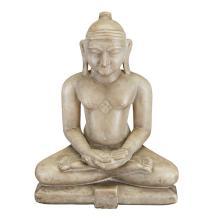 Indian Marble Figure of Tirthankara