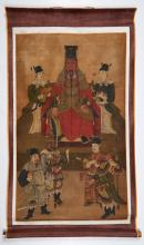 Korean School  Hanging scroll, Ancestral portrait