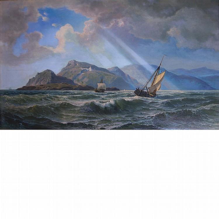 Hans Emil Jahn Dutch, 1834-1902 Hope in High Waters, 1869