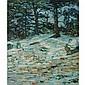 Charles Salis Kaelin American, 1858-1929 Winter Woods   Signed C. S. Kaelin (ll) Oil on canvas 24 1/8 x...