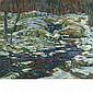 Charles Salis Kaelin American, 1858-1929 Snowy Woodland   Signed C. S. Kaelin (lr) Oil on canvas 24 x 28...
