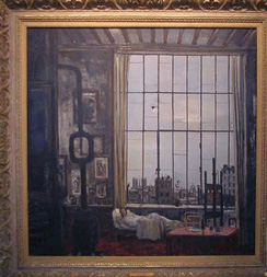 Bernard Lamotte French, 1903-1983 BETWEEN TWO WORLDS, inspired by Giacomo Puccinis La Vie De Boheme