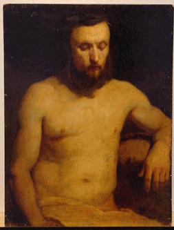 Jan Matejko Polish, 1838-1893 MALE FIGURE STUDY