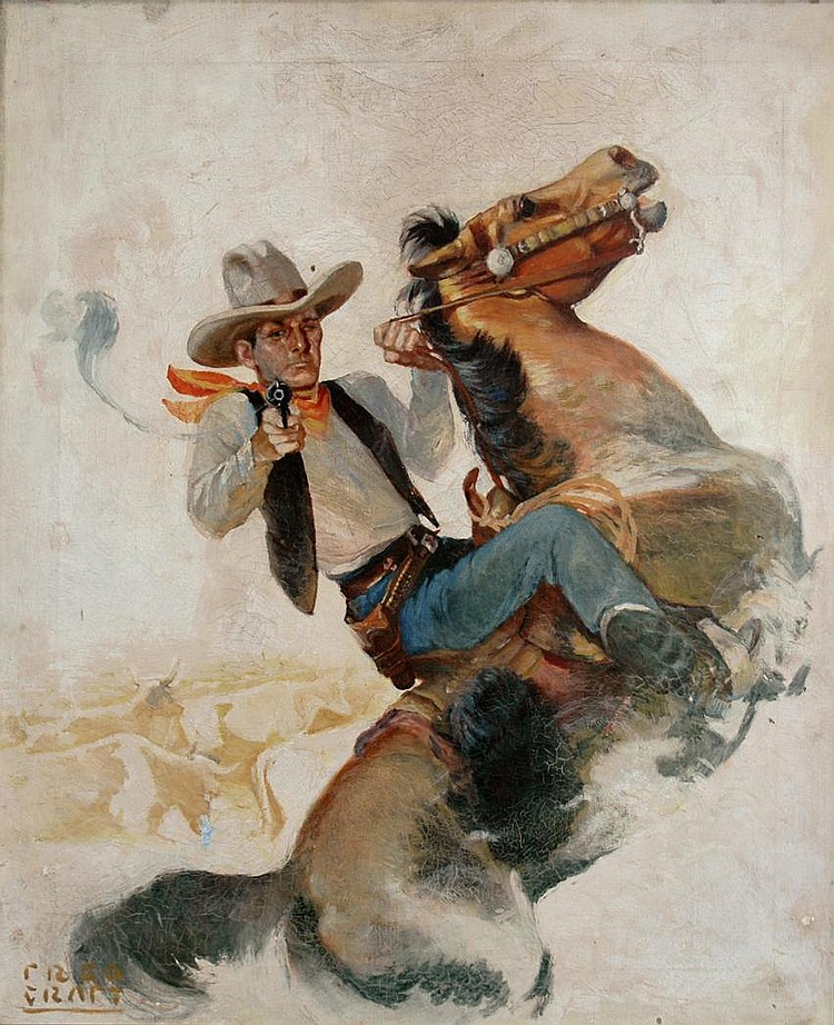 Fred Craft American, 1883-1935 The Lawman