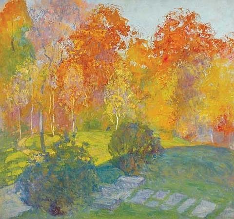 Bernhard Gutmann American, 1869-1936 Landscape