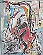 Raffaele Castello Italian, 1905-1969 Bull, 1948