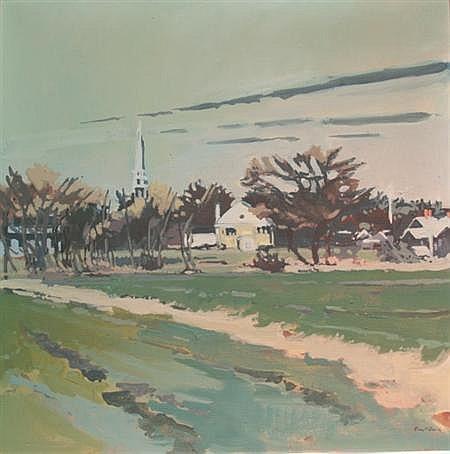 Robert Warren Dash American, b. 1934 Cool West, 1972