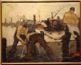 Jozef (Jos) Mous Belgian, 1896 - 1968 DOCK WORKERS