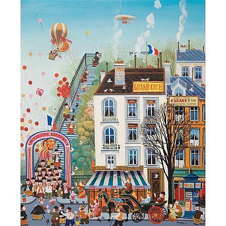 Hiro Yamagata Japanese, b. 1948 Paris Street, 1977