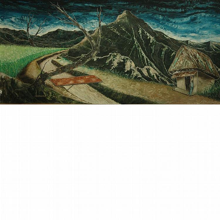 Jacques Enguerrand Gourgue Haitian, 1930-1996 Mountain Road