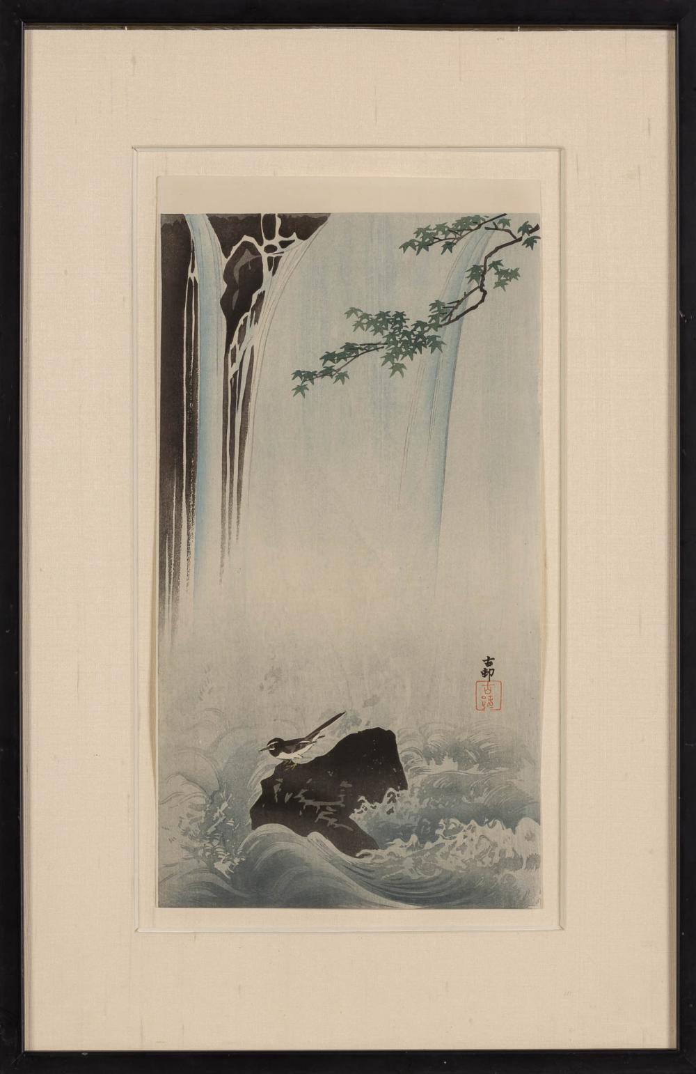 Group of Five Japanese Woodblock Prints