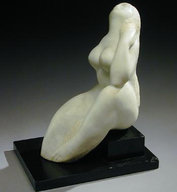 Oronzio Maldarelli Italian/American, 1892-1963 SEATED NUDE, ONE ARM ON SHOULDER