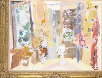 Raymond Jean Legueult French, 1898-1971 FLEURS DAUTOMNE