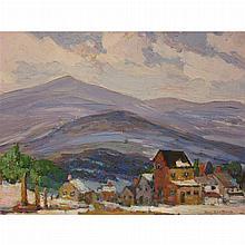 Peter Bela Mayer American, 1887-1992 Mountain View