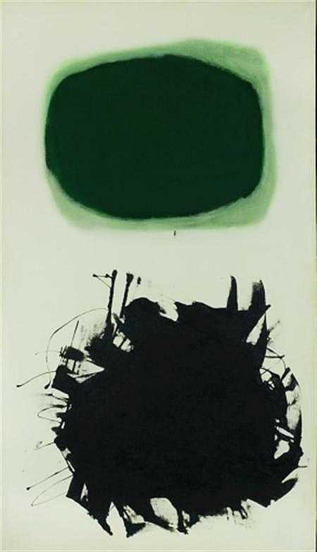Adolph Gottlieb American, 1903-1974 Blast III, 1958