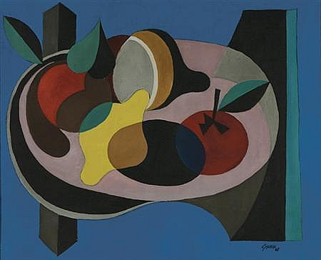 Leon Gischia French, 1903-1991 Still Life with Fruit