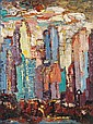 Abraham Rattner American, 1895-1978 Untitled (Cityscape), Abraham Rattner, Click for value