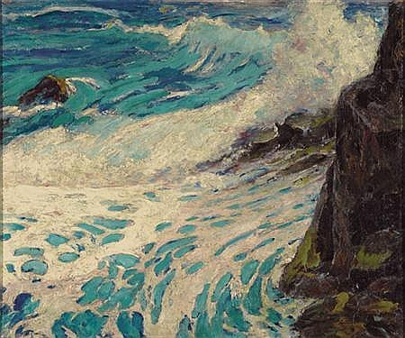 Amanda Brewster Sewell American, 1859-1926 Seascape
