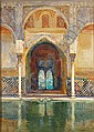 George Owen Wynne Apperley British, 1884-1960 Entrance to the Hall of Ambassadors, Alhambra, Granada, George Owen Wynne Apperley, Click for value
