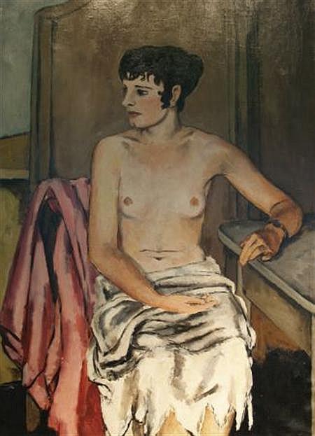 Alexander Brook American, 1898-1980 Yvette