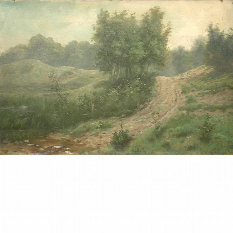 John Savage Bolles American, 1905-1983 Country Road