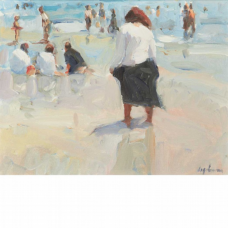 Richard Segalman American, b. 1934 Coney Island II
