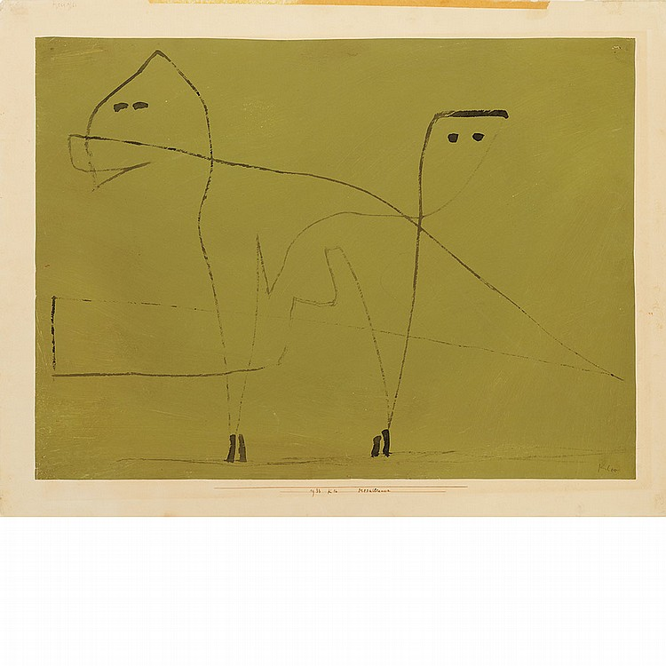 Paul Klee Swiss, 1879-1940 Mesalliance, 1933