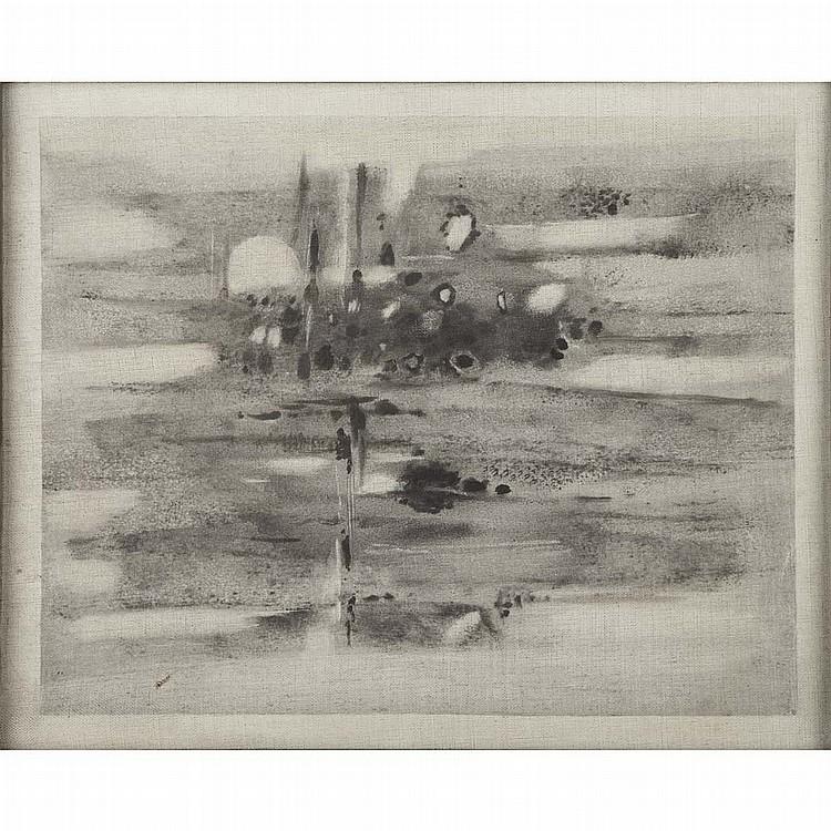 Abdel Kader Guermaz French, 1919-1996 Untitled: Pair