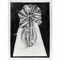 Barbara Dewayne Chase-Riboud American/French, b. 1939 Two Figures, Untitled