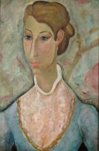 Francisco Riba Rovira Spanish, 1913-2002 Portrait of a Woman